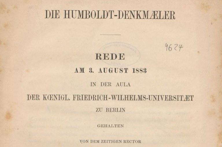 Humboldt-Denkmäler